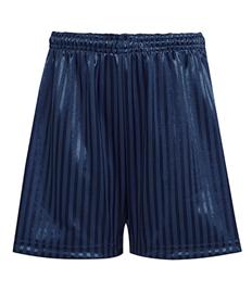Temporary PE Kit Navy Stripe shorts