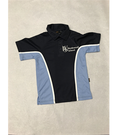 Boys Senior PE contrast polo shirt