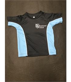 Unisex Infant Contrast PE t-shirt