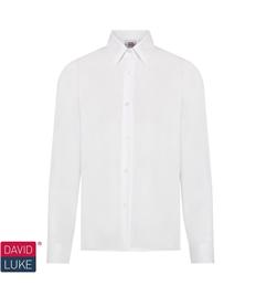 Girls White Long Sleeve Shirt (Optional)